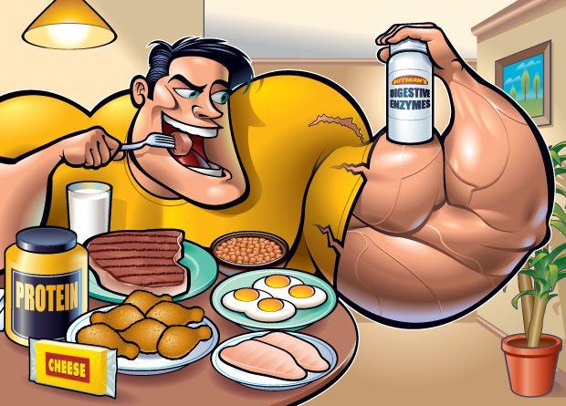 Cât de multă proteină ar trebui să mancam pentru a construi masa musculara?