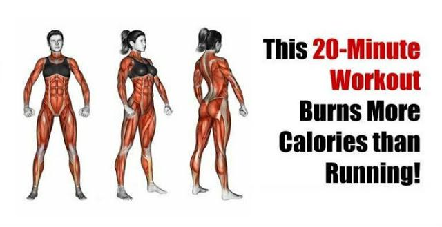 Antrenamentul de 20 de min care arde mai multe calorii decat alergatul!