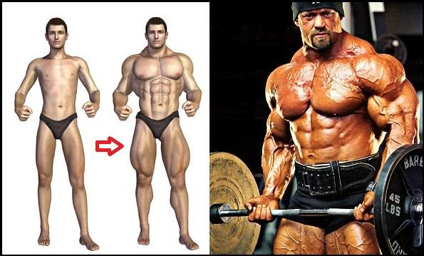 Cel mai bun mod de a castiga masa musculara - 5 sfaturi pentru baietii slabi