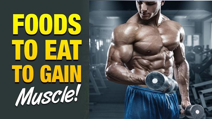 8 Alimente necesare cand vrei sa castigi masa musculara