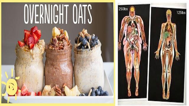 Retete delicioase cu ovăz lasate peste noapte, care vă va ajuta să pierdeti în greutate!