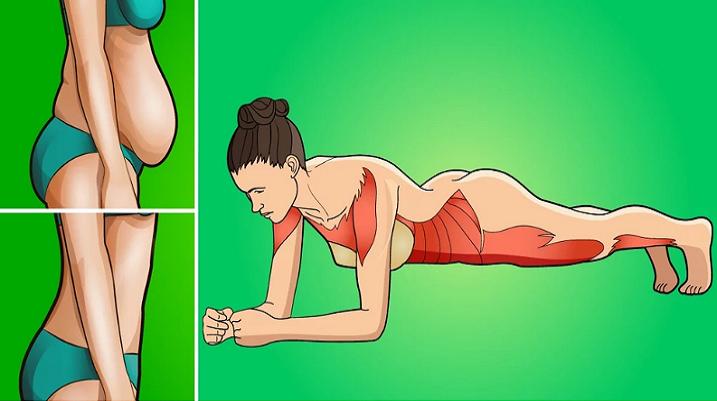 Acest exercițiu vă poate schimba întregul corp!