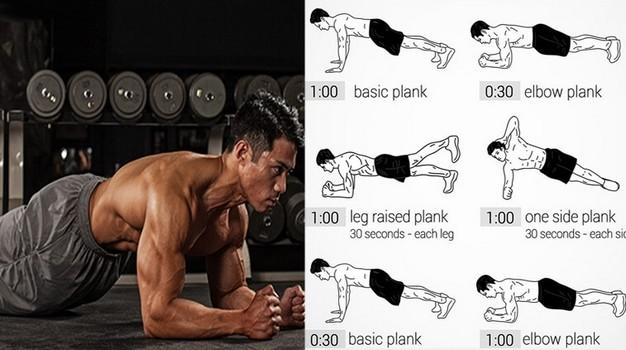 7 lucruri care se vor întâmpla atunci când începeți să faceti plank în fiecare zi