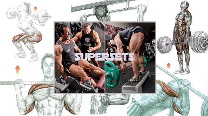 Toate tipurile de Superseturi pentru cresterea masei musculare!