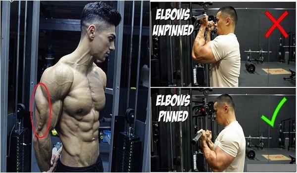 Top 5 greseli cand antrenam tricepsul și cum să le corectezi!