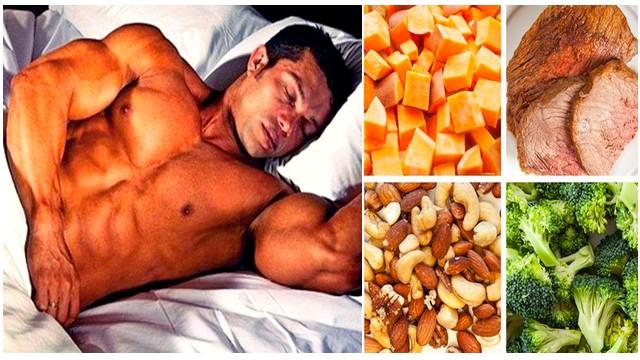 Plan de Suplimente si alimentar inainte de culcare - Creșteți în timpul somnului