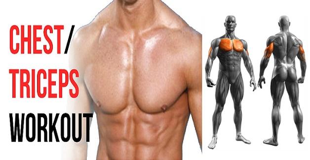 Antrenament pentru piept și triceps: