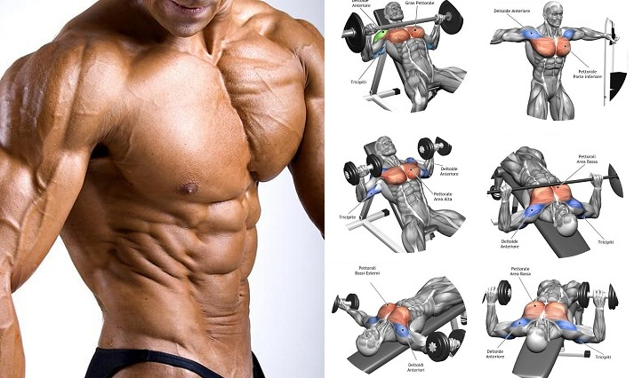 Antrenament pentru pieptul superior- Cum sa cresti masa musculara