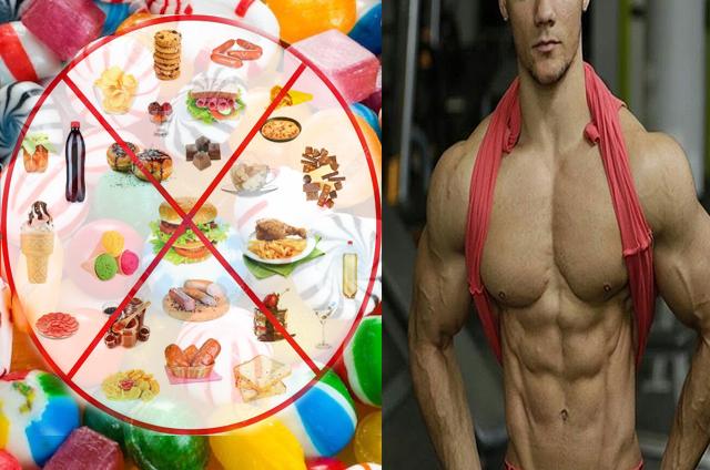 Inceteaza sa mănânci aceste alimente daca doresti sa pui masa musculara