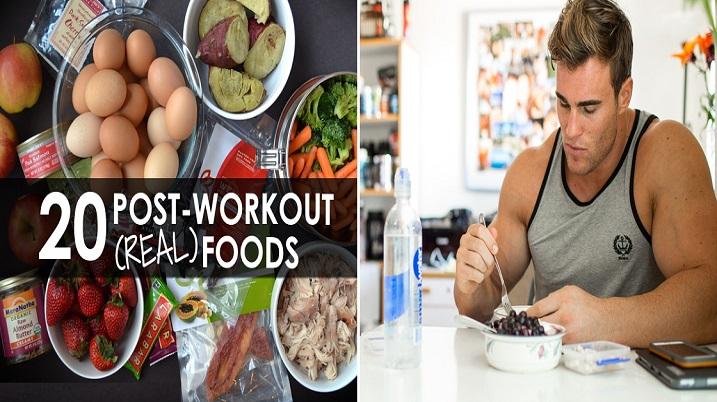 Ce să mănânci după un antrenament - Totul despre nutritia post-antrenament