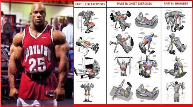 Programul de antrenamentul lui PHILL HEATH