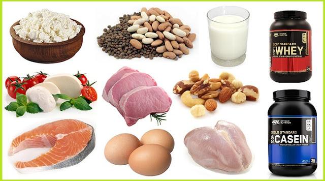4 Tipuri de proteina pe care ar trebui sa le folosesti