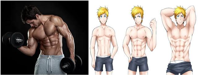 4 pași pentru a obține rapid masa musculara