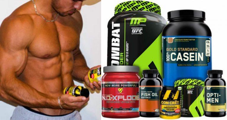 Top suplimente pentru o creștere mai rapidă a mușchilor