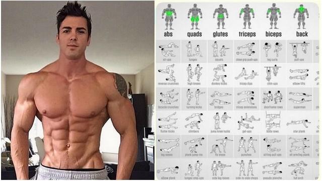 Cum sa construiesti un corp atletic acasa