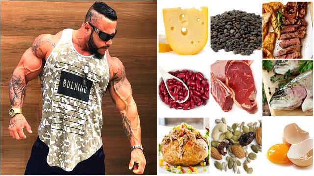 Top 7 alimente bogate in proteine pentru a obține masa musculara