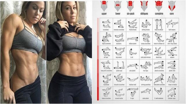 Cele mai bune 4 exerciții pentru abdomenul inferior