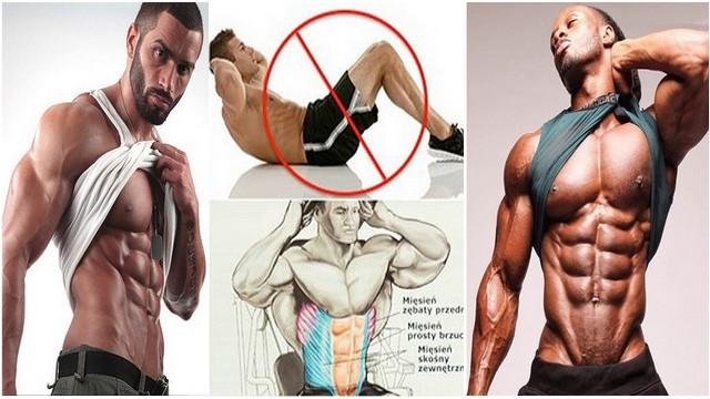 Sase exerciții pentru un abdomen perfect